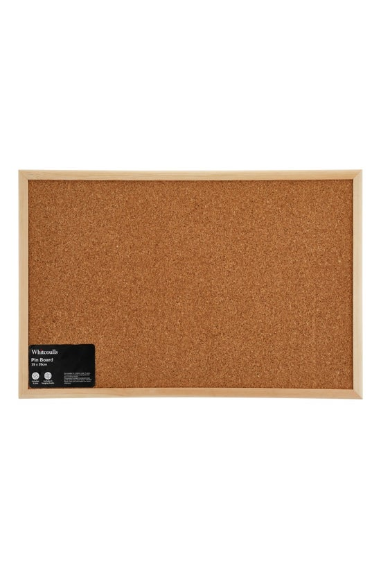 Whitcoulls Pin Board Wood Fram...