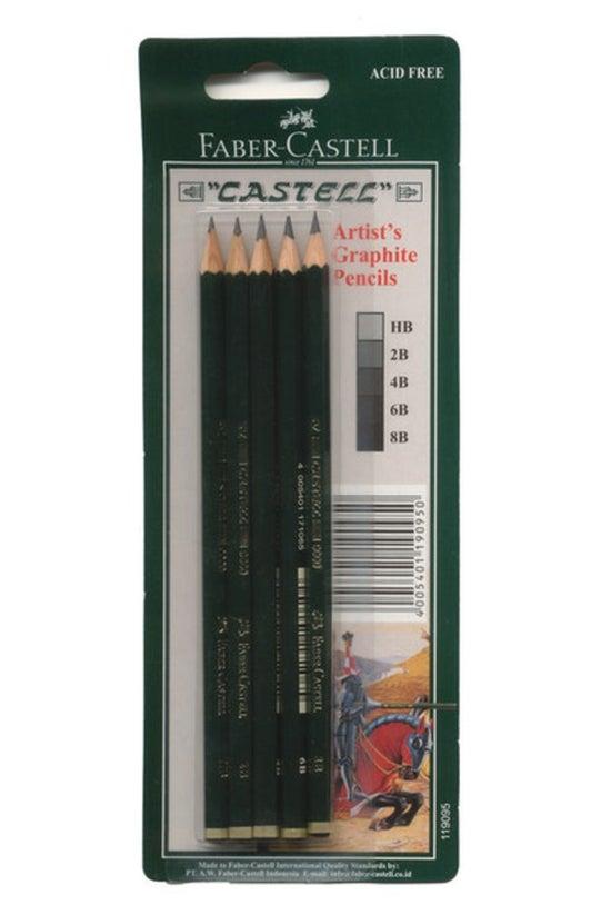 Faber Graphite Pencils Set (hb...
