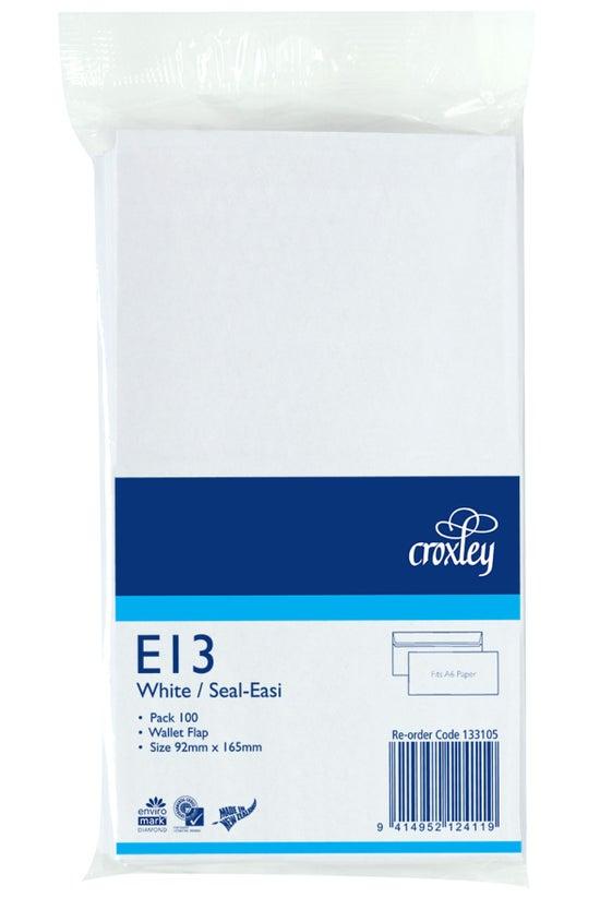 Croxley Envelopes E13 Seal Eas...