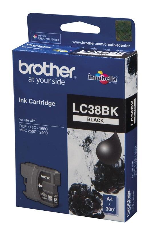 Brother Ink Cartridge Lc38bk B...