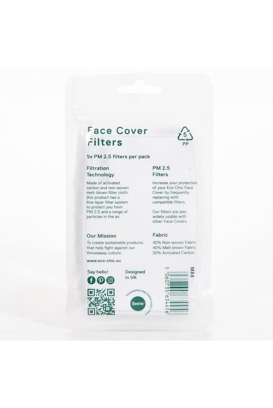 Eco Chic Face Mask Filters Pac...